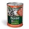 Monge B-Wild Grain Free All Breed Puppy&Junior Anatra con Patate - 12kg gallery 2