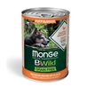 Monge B-Wild Grain Free All Breed Adult Salmone con Piselli - 2,5kg gallery 2