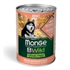 Monge B-Wild Grain Free All Breed Adult Salmone con Piselli - 12kg gallery 2