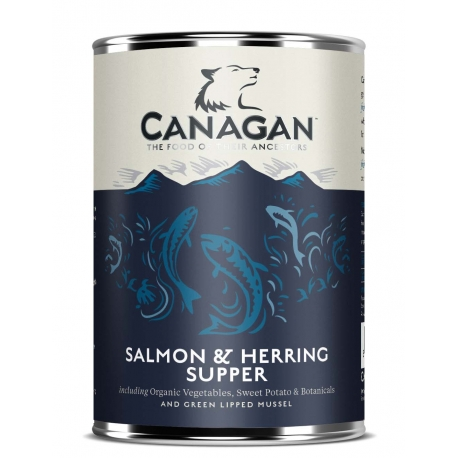 CANAGAN Salmon & Herring - 6x400g
