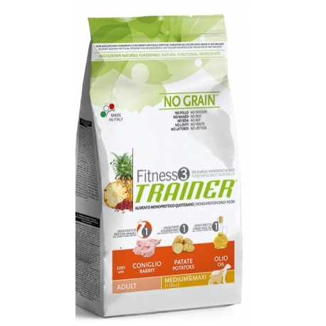 TRAINER Fitness 3 Medium Maxi Coniglio 12,5kg