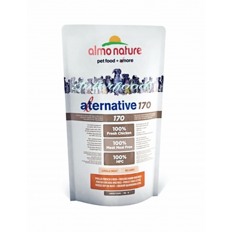 Almo Nature Alternative 170 XS/S Pollo - 750gr