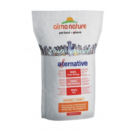 Almo Nature Alternative M-L Pollo 3.75kg