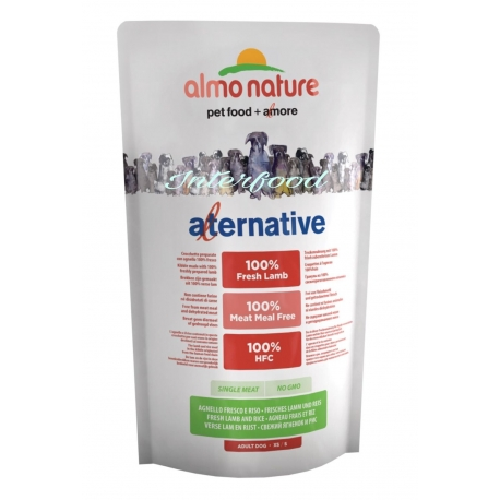 Almo Nature Alternative XS/S Agnello 750gr