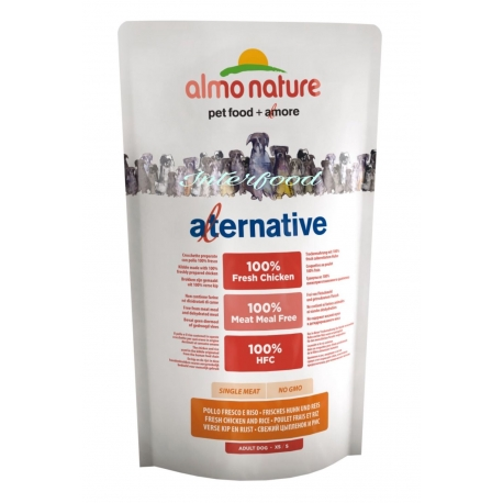 Almo Nature Alternative XS/S Pollo 750gr
