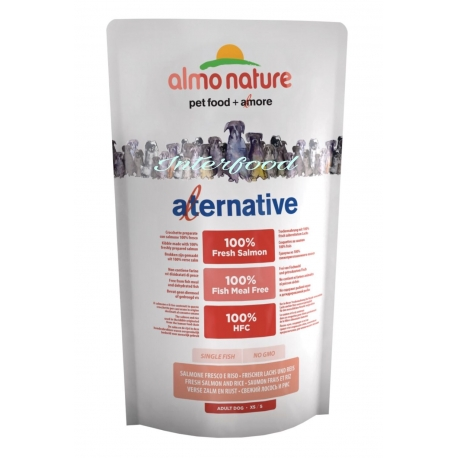 Almo Nature Alternative XS/S Salmone 750gr