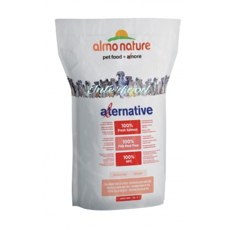 Almo Nature Alternative M-L Salmone 3.75kg