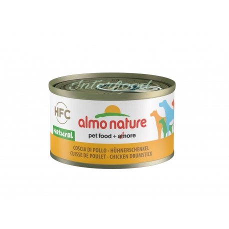ALMO NATURE HFC Natural Coscia di pollo 95g