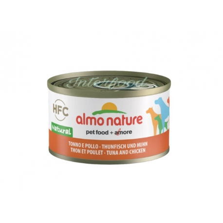 ALMO NATURE HFC Natural Tonno e Pollo 95g