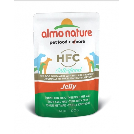 ALMO NATURE HFC Jelly Tonno con mais 70g