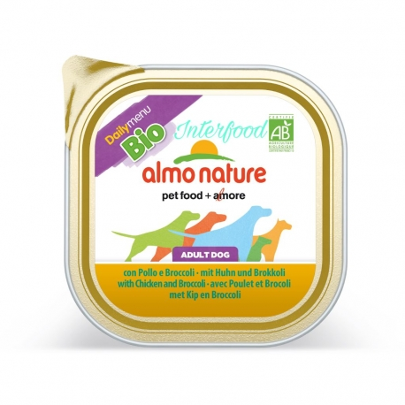 ALMO NATURE Biorganic con Pollo e broccoli 300g