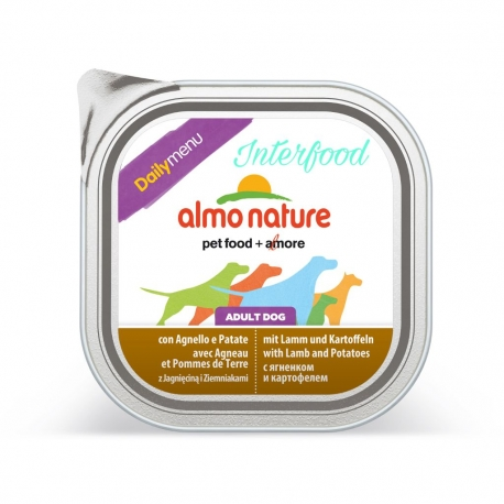 ALMO NATURE Dailymenu con Agnello e Patate 300g