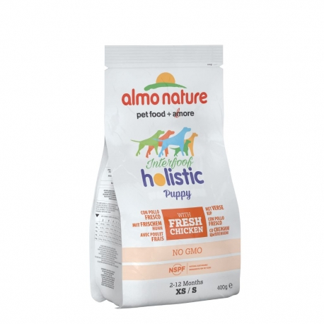 Almo Nature Holistic Small - Puppy - Pollo e riso 400gr