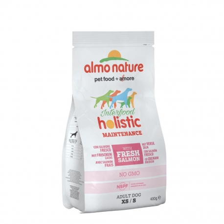 Almo Nature Holistic Small - Salmone e riso 400g