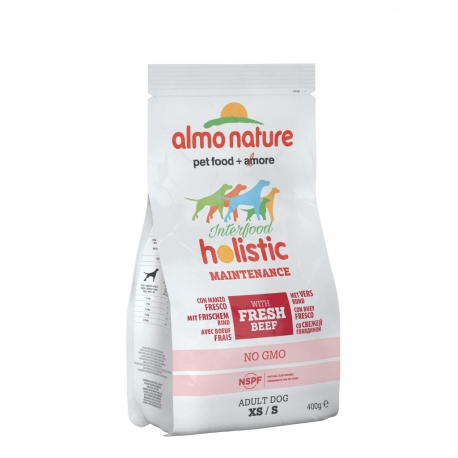 Almo Nature Holistic Small - Manzo e riso 400g 1