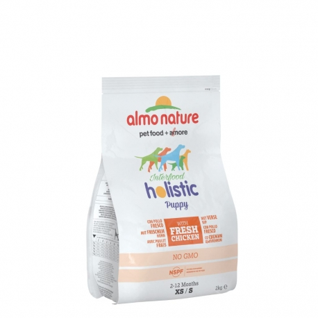 Almo Nature Holistic Small - Puppy - Pollo e riso 2kg 1