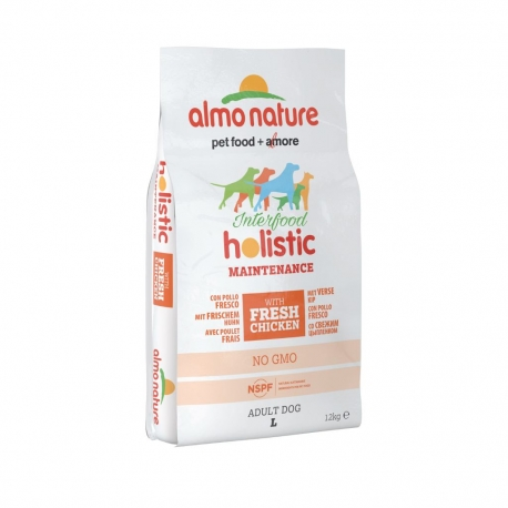 Almo Nature Holistic Large - Pollo e riso 12kg 1