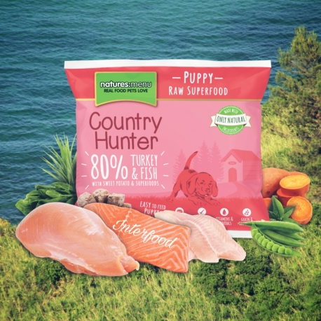 Country Hunter Raw Superfood Nuggets Puppy 1kg