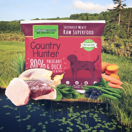 Country Hunter Raw Superfood Nuggets Pheasant & Duck 1kg