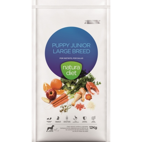 NATURA DIET Puppy Junior Large 12kg