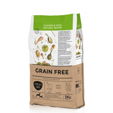 NATURA DIET Grain Free Chicken 3kg 1