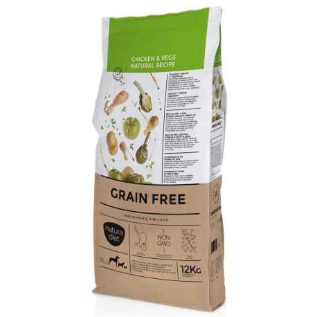 NATURA DIET Grain Free Chicken 12kg 1