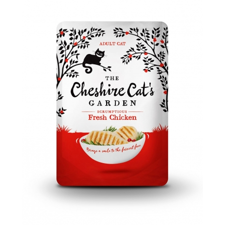 CHESHIRE CAT'S Fresh Chicken 8x85g